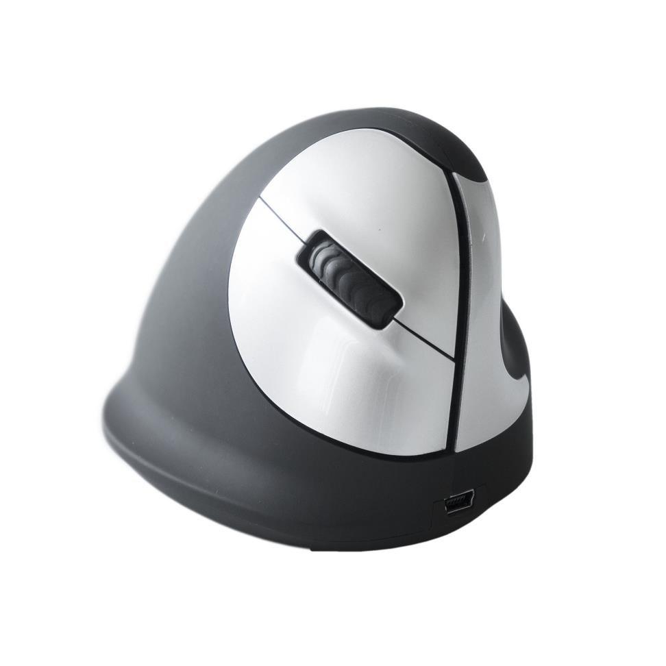 R-Go HE - Ergonomická vertikální myš, pro praváky, bezdrátová (M)