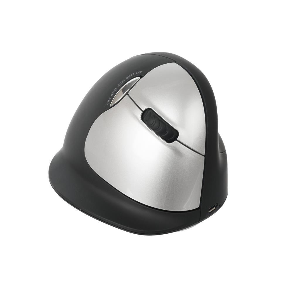 R-Go HE - Ergonomická vertikální myš, pro praváky, bezdrátová (L)