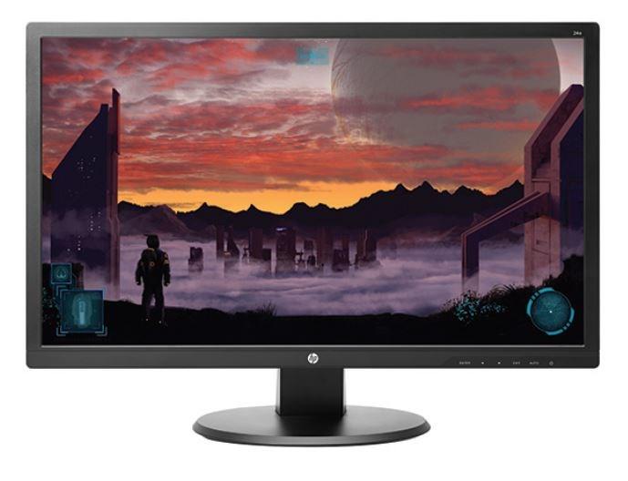 "HP LCD TN Monitor 24o LED backlight AG; 24"" matný, 1920x1080, 10M:1, 250cd, 1ms,VGA,DVI-D,HDMI,VESA,black (X0J60AA#ABB)"