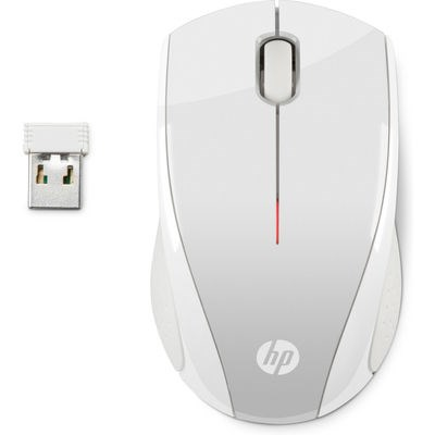HP X3000 PSilver Wireless Mouse - MOUSE (2HW68AA#ABB)