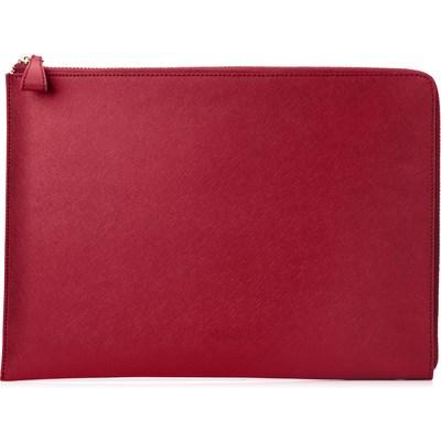 "HP Spectre 13.3"" Split Leather Sleeve (Empress Red) - BAG (2HW35AA#ABB)"