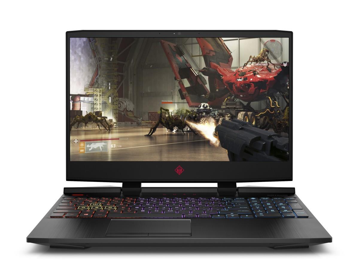 """NTB HP OMEN 15-dc0009nc;15.6"""" IPS AG FHD;i7-8750H 16GB DDR4;1TB/7200+256GB SSD;GeF GTX 1070-8GB;USB3.1;Win10 - black"""