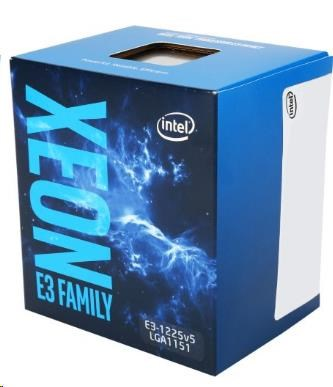 CPU INTEL XEON E3-1225 v6, LGA1151, 3.30 GHz, 8MB L3, VGA HD P630, 80W, BOX