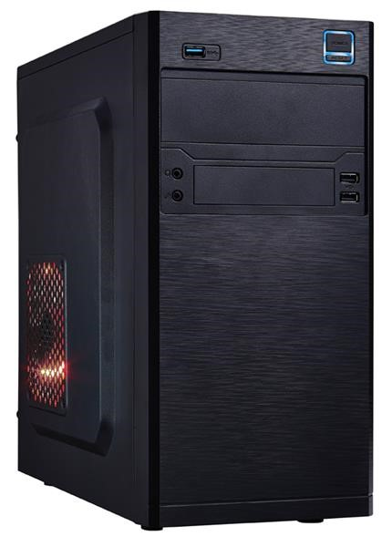 EUROCASE skříň MC X202 350W FSP 350APN 85+ black, micro tower