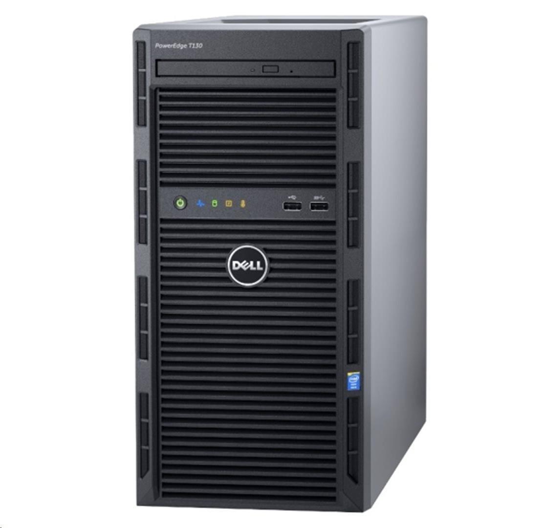 DELL Server T130 E3-1220 8G 2x1TB NL-SAS H330 2xGLAN 3NBD (S16-T130-001)