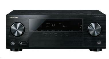 PIONEER VSX-330-K AV přijímač 5x105W, HDCP 2.2, 3-D Ready, 4K Pass through, čelní USB, Dolby TrueHD/Digital Plus