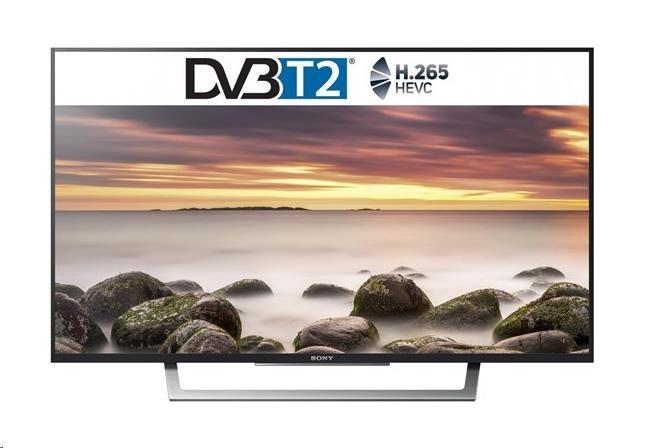 "Sony KDL-32WD759 LED TV, 1920x1080, 32"" 80cm, Motionflow XR 400Hz, DVB-T/T2/S/S2/C/CI+/A, HDMI,USB,"