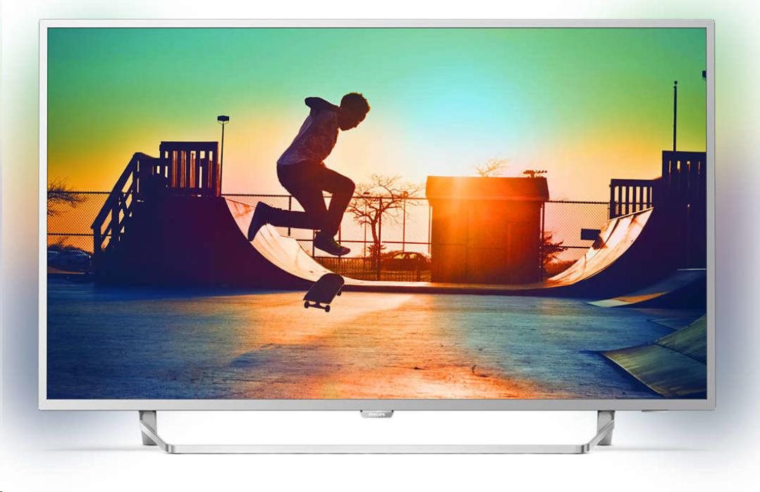"Philips 55PUS6412 Smart LED TV, 55"" 139 cm, UHD (3840x2160), DVB-T/T2/S2/C, Ambilight, Wi-Fi,USB,HDMI, Android TV"