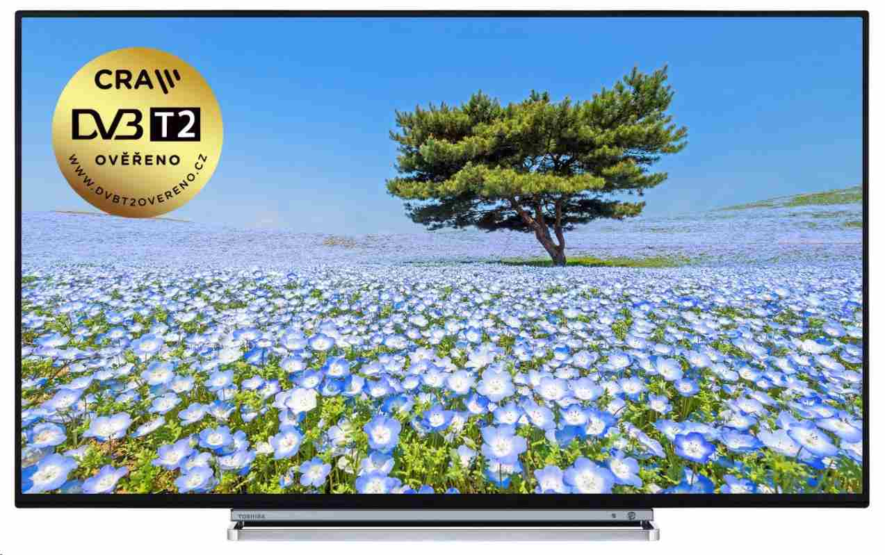 "Toshiba 43U6763DG Smart LED TV, 43"" 109 cm, UHD, 3840x2160, DVB-T/T2/S2/C, WiFi, USB,HDMI"