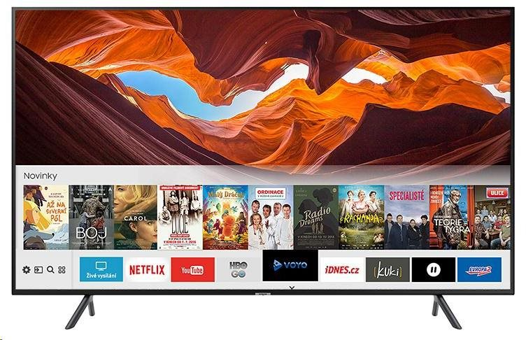 """SAMSUNG UE49NU7172 Smart LED TV, 49"""" 123 cm, UHD 3840x2160, DVB-T/T2/S/S2/C, Tizen OS, HDR10+, WiFi, HbbTV 2.0"""