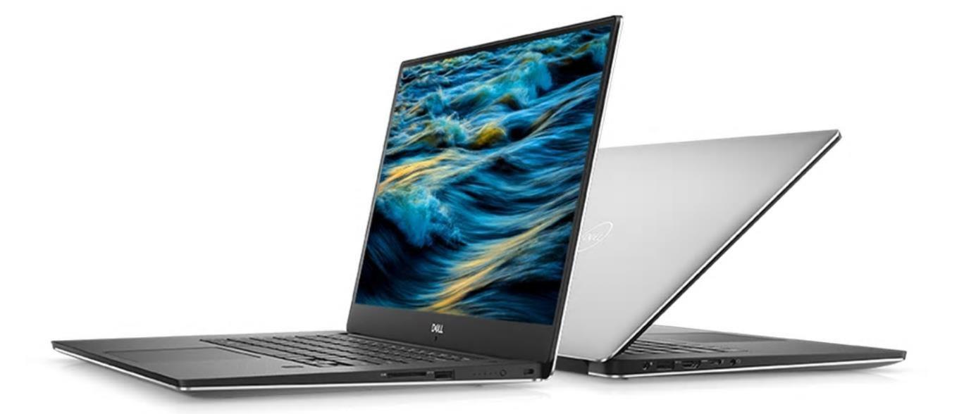 """DELL XPS 15 9570/Core i7-8750H/16GB/512GB SSD/15.6""""UHD Touch/GTX 1050Ti/FgrPr/W+B/l/W10Pro/3Y NBD"""