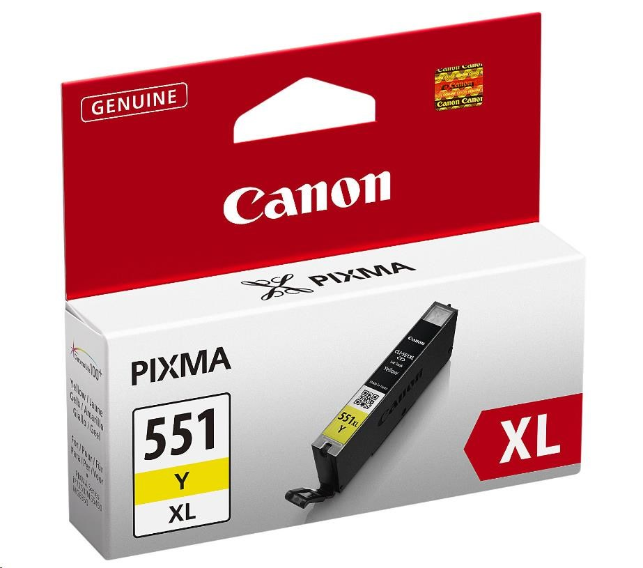 Canon BJ CARTRIDGE CLI-551XL Y BLISTER SEC (6446B004)