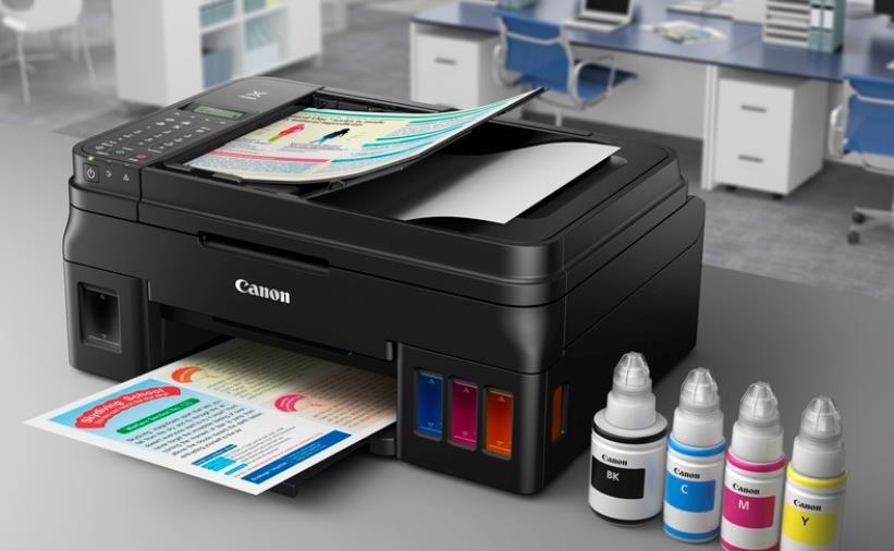 Canon PIXMA Tiskárna G4410 (doplnitelné zásobníky inkoustu) - barevná, MF (tisk,kopírka,sken,fax,cloud), USB, Wi-Fi