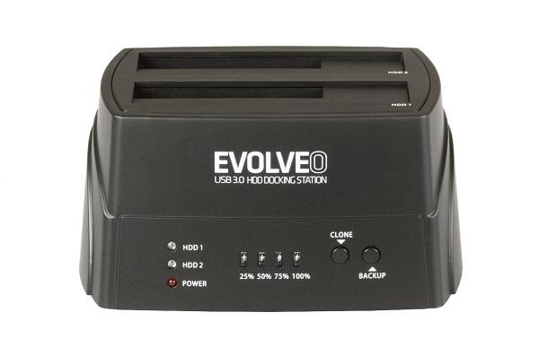 EVOLVEO HDD dokovací stanice, USB 3.0 (BN-D4U3P)