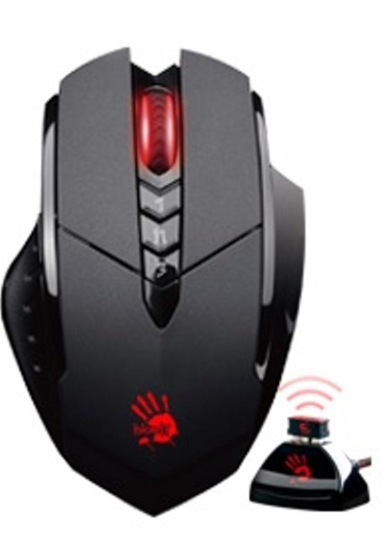 A4tech Bloody R70, bezdrátová herní myš, černá, USB, CORE 2