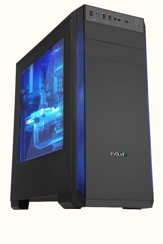 EVOLVEO T3, case ATX (CAET3)