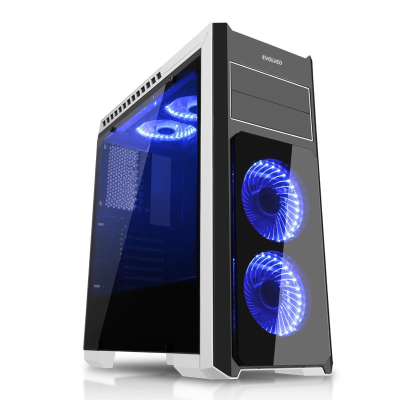 EVOLVEO Ray 4, case ATX (CAER4)