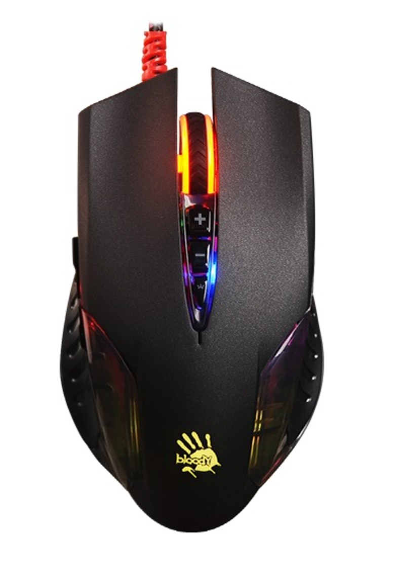 A4tech BLOODY Q50 herní myš, 3200DPI, USB, černá