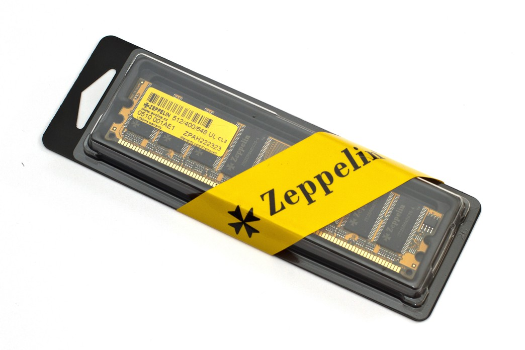 EVOLVEO Zeppelin, 1GB 800MHz DDR2 CL6, box