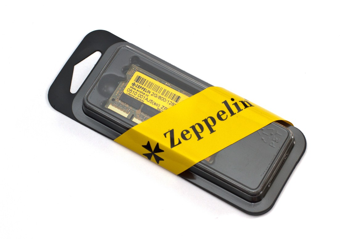 EVOLVEO Zeppelin, 2GB 667MHz DDR2 CL6 SO-DIMM, box