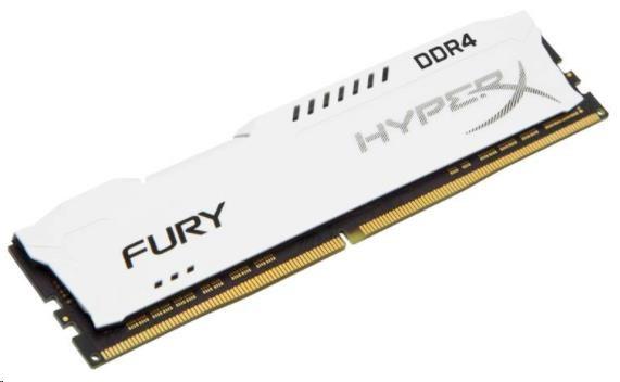DIMM DDR4 8GB 2400MHz CL15 KINGSTON HyperX FURY White