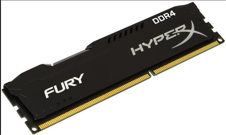 DIMM DDR4 8GB 2933MHz CL17 KINGSTON HyperX FURY Black
