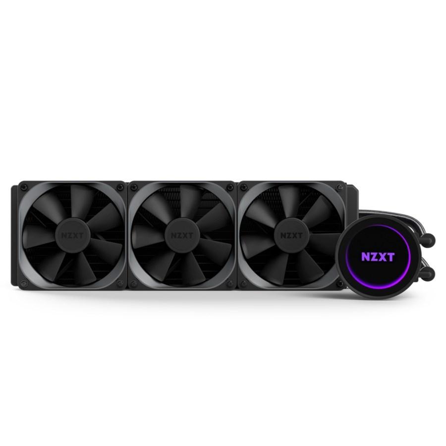 NZXT vodní chladič Kraken X72 / 3x120mm fan / LGA 2011-3/1366/1156/1155/1150/FM2/FM1/AM4/AM3+/AM3/AM2+/AM2/TR4 / 6 let