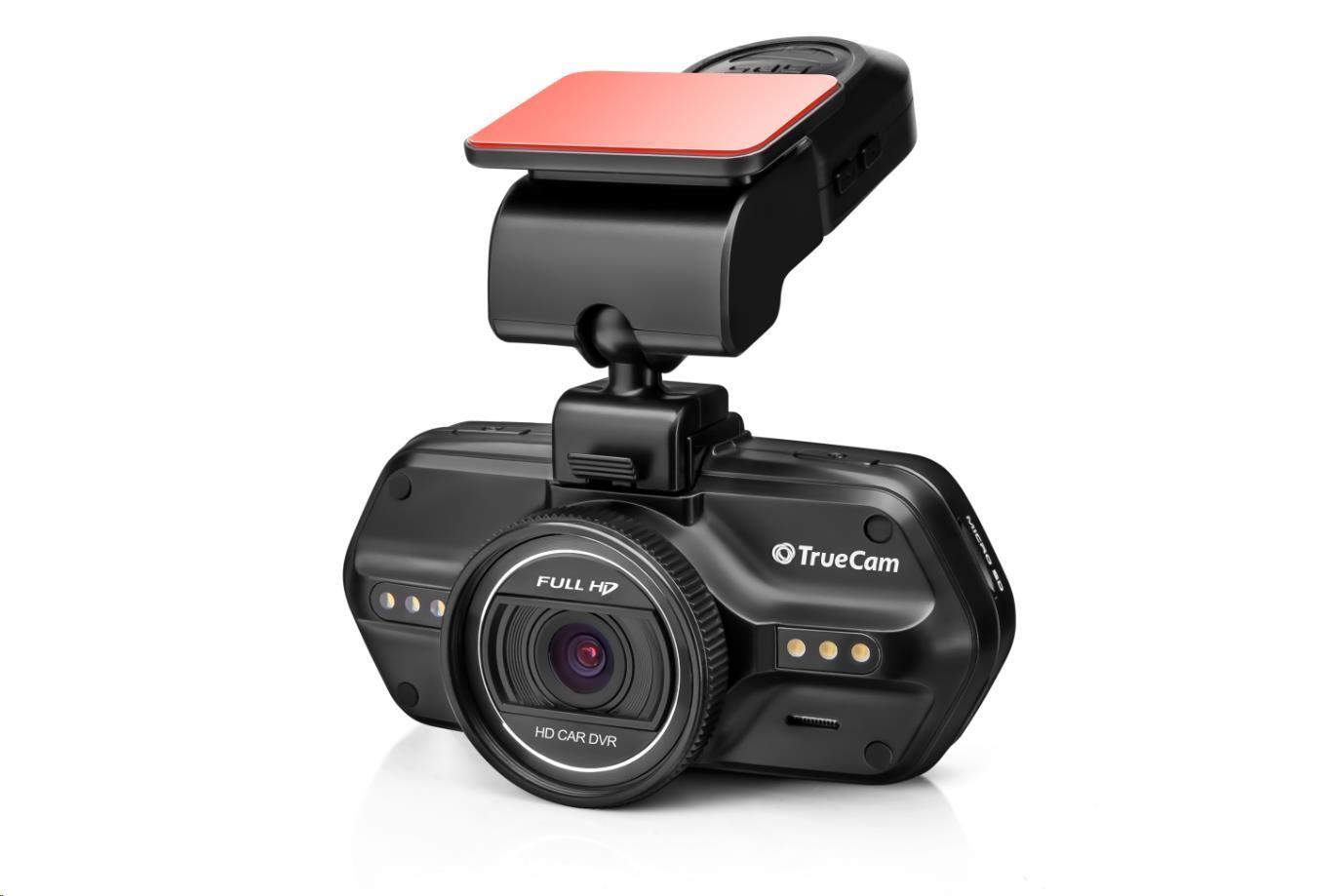 TrueCam A5S - kamera do auta (Full HD, GPS, české menu) (TRUECAMA5S)