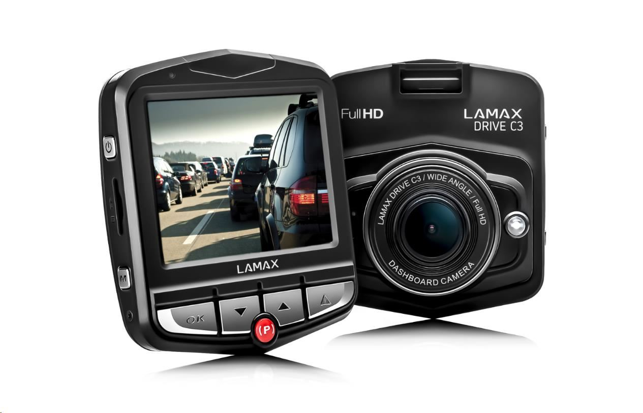 LAMAX DRIVE C3 - kamera do auta (8594175351200)