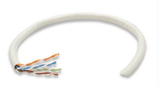 Intellinet UTP kabel, Cat5e, drát 305m, 24AWG, šedý