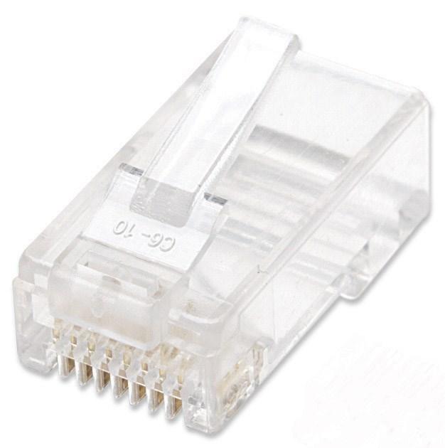 Intellinet konektor RJ45, licna (lanko) UTP Cat5e, 100ks v nádobě (790055)