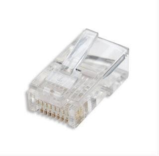 Intellinet konektor RJ45, drát UTP Cat5e, 100ks v nádobě (502399)