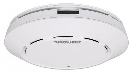 Intellinet High-Power Ceiling Mount Wireless AC1200 Dual-Band Gigabit PoE Access Point