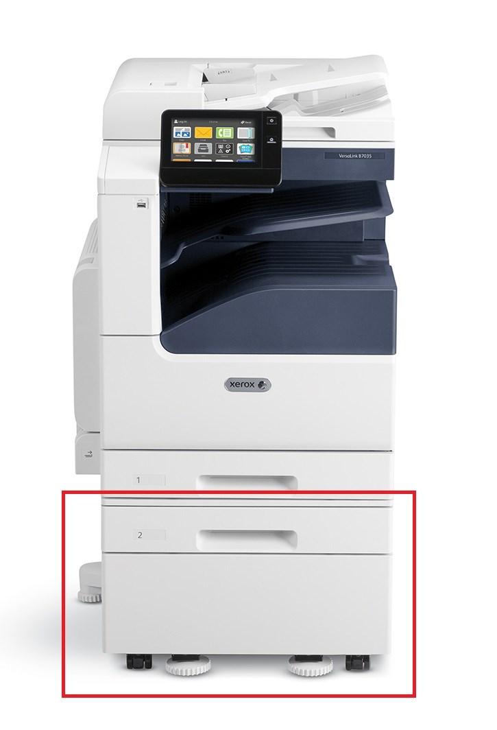 Xerox přídavný zásobník na 520 listů s podstavcem pro VersaLink B70xx a C70xx (097S04907)