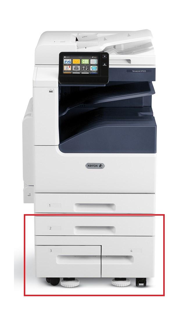 Xerox přídavný zásobník na 520 listů s tandemovým podavačem na 2040 listů pro VersaLink B70xx a C70xx (097S04909)
