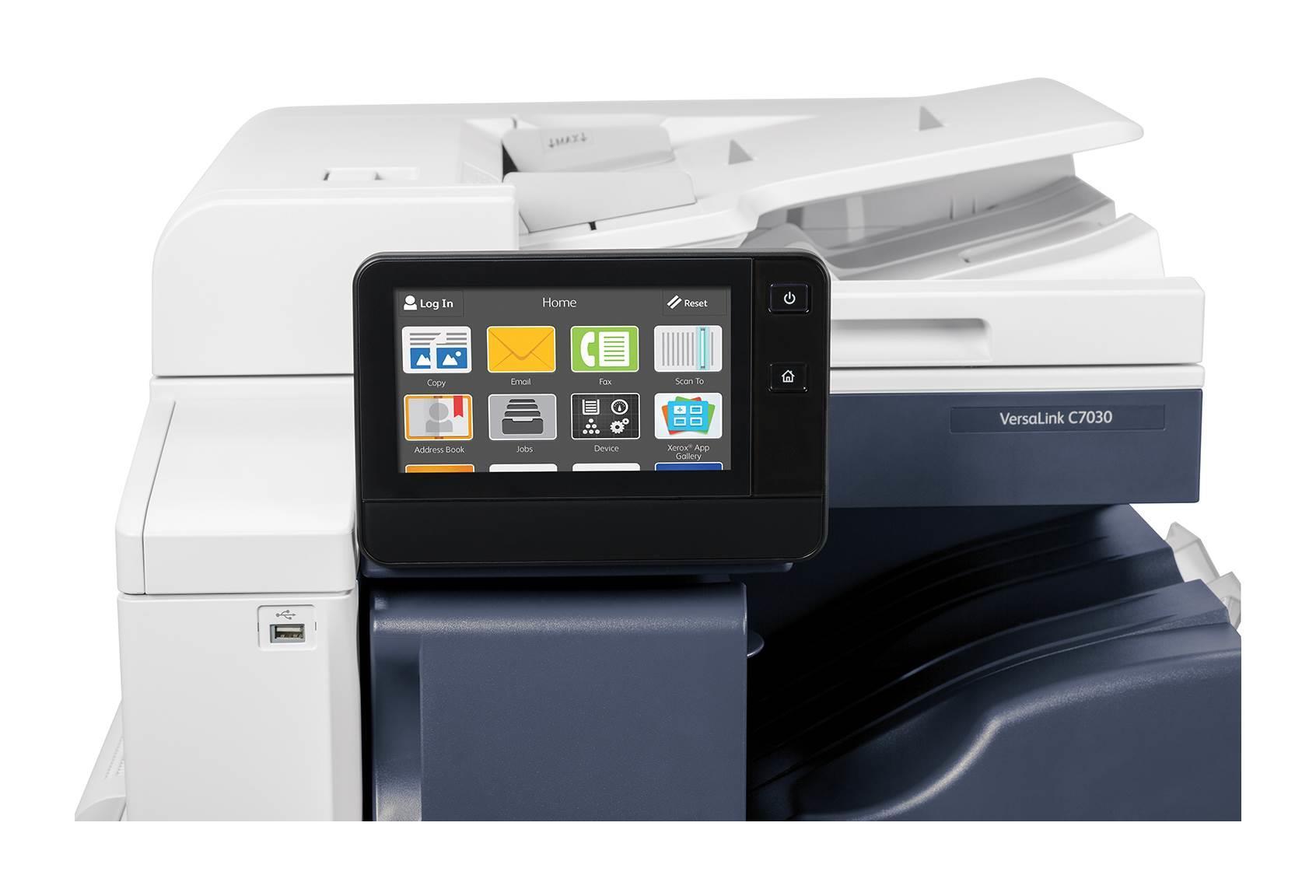 Xerox VersaLink C70xxV_S - COL MFZ,A3, NUTNÉ DOPLNIT O INICIALIZAČNÍ KIT; S=Stand (stand s 1 zásobníkem+HDD+Centre Tray) (C7001V_S)