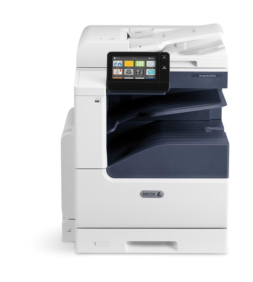 Xerox VersaLink B70xxV_S - ČB MFZ,A3, NUTNÉ DOPLNIT O INICIALIZAČNÍ KIT; S=Stand (stand s 1 zásobníkem+HDD+Centre Tray) (B7001V_S)