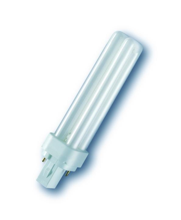 OSRAM kompaktní úsporná zářivka DULUX D 18W/830 G24D-2