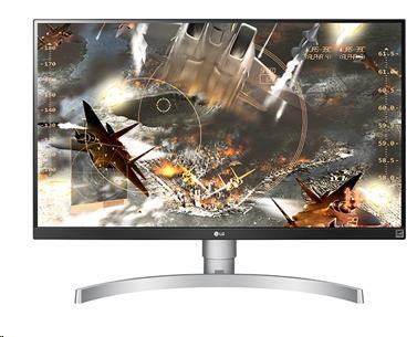 """LG MT IPS LCD LED 27"""" 27UK650 IPS panel, 10bit, 3840x2160, 5ms, 2xHDMI, DisplayPort, vysk nastavitelny"""