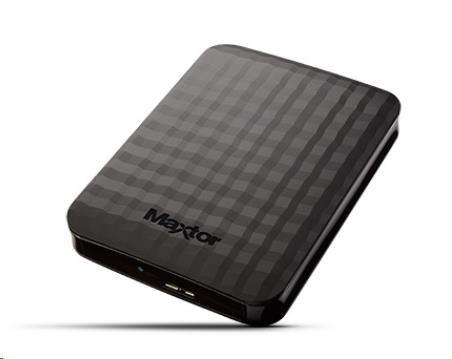 """MAXTOR M3 Portable 2TB Ext. 2.5"""" USB 3.0 Black (STSHX-M201TCBM)"""