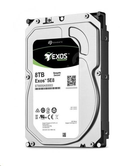 SEAGATE HDD EXOS 5E8 8TB SATAIII/600 7200RPM, 256MB cache