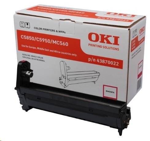 Oki Obraz. válec pro magenta toner do C5850/C5950/MC560 (20k) (43870022)