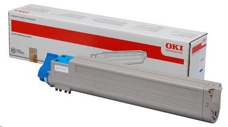 Oki Toner Cyan toner do C9655 (22 000 stránek) (43837131)