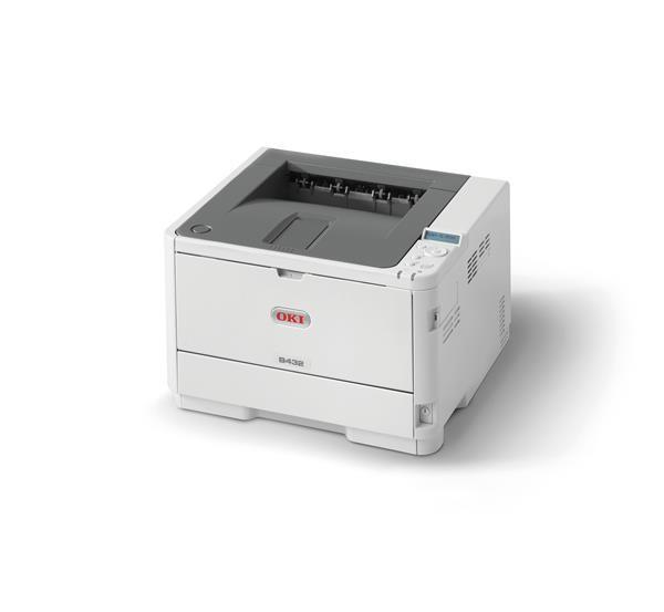 Oki B432dn A4 40 ppm 1200x1200 dpi,PCL, PS3,USB 2.0, LAN (45762012)
