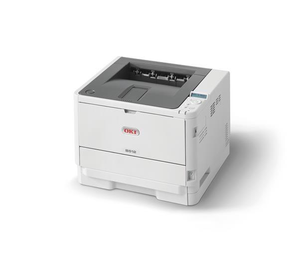 Oki B512dn A4 45 ppm 1200x1200 dpi,PCL, PS3,USB 2.0, LAN (45762022)