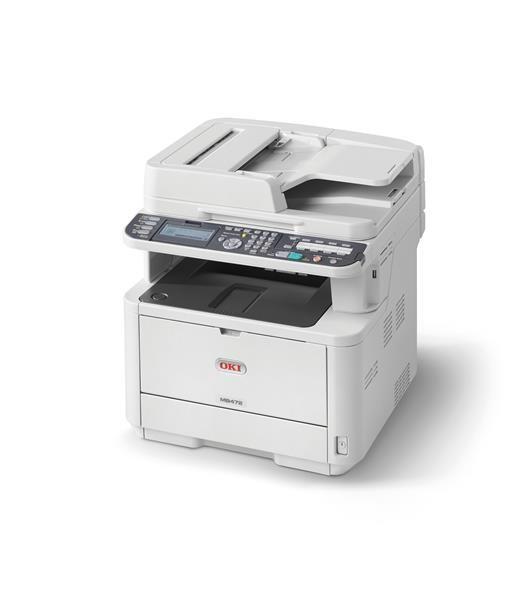Oki MB472dnw, A4, 33 ppm 1200x1200 dpi, RADF, PCL, USB2.0, LAN (Print/Scan/Copy) (45762102)