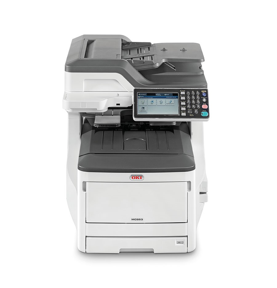 Oki MC853dn A3 23 ppm ProQ2400DPI, PCL/PS,USB,LAN (Print/Scan/Copy/Fax), 250GB HDD (45850404)