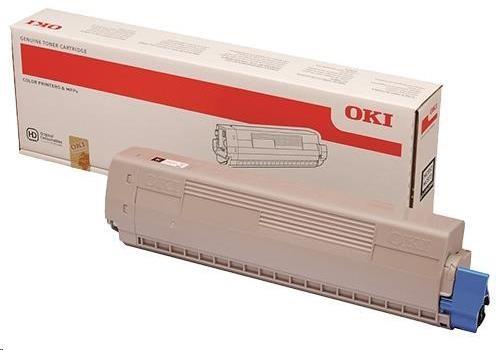 OKI Cyan toner do MC853/873 (7.300 stránek) (45862839)