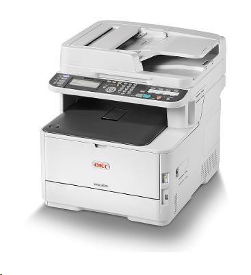 Oki MC363dn A4 30/26 ppm ProQ2400dpi, PCL/PS, RADF, USB 2.0,LAN (46403502)