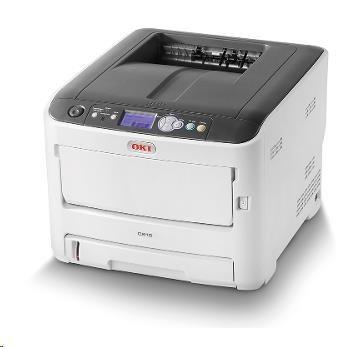 Oki C612n A4 36/34 ppm ProQ2400 dpi, PCL, USB, LAN, 256MB RAM (46406003)